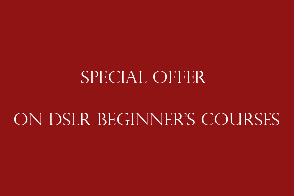 30% off DSLR beginner's course